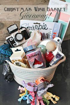 Christmas Wish Basket Giveaway