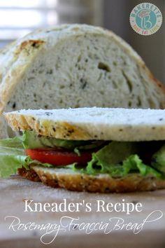 Kneader's Rosemary Focaccia Bread Recipe