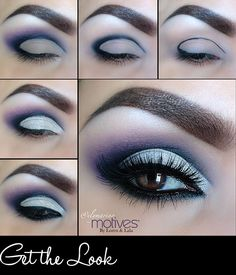 Get the Look: Smokey Plum Eye Makeup