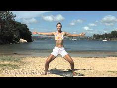15 min Beach Body Pilates workout