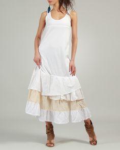Ian Mosh Long Layered Flared Dress - Sales Events - Modnique.com