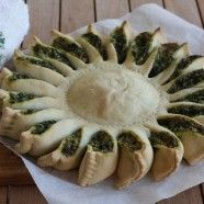 A Beautiful and Sunny Spinach Pie