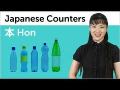 ▶ Learn Japanese Counters - Hon - YouTube