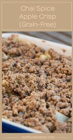 Grain-Free Chai Spice Apple Crisp
