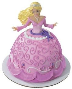 Barbie Mini Doll Cake Pick