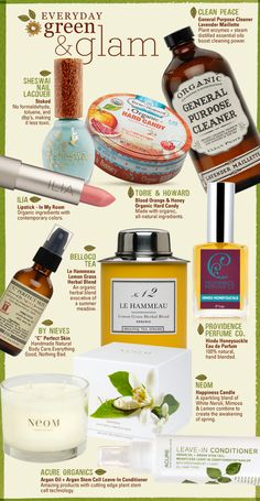 beautiful natural  organic products