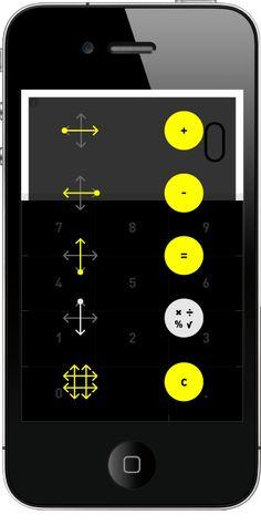 Rechner - gesture-based calculator app - http://rechner-app.com   Designer: Berger & Fohr - http://www.bergerfohr.com