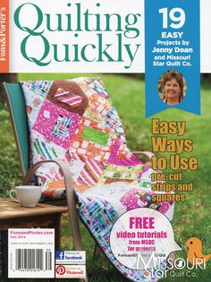 Quilting Quickly Bookazine - Fall 2013 from Missouri Star Quilt Co