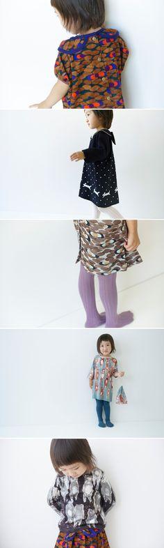 minä perhonen children's line via designlovefest
