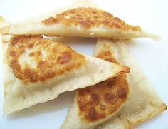 Yes, jalapeno hummus ravioli by Jennifer Leal @savorthethyme #veganmusttry