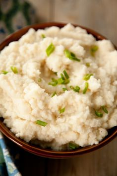 Paula Deen's Mashed Cauliflower - the best mashed cauliflower recipe I've found so far! (I added a little cream cheese, and made them even better!)