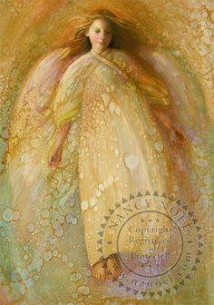 Angel of Serenity by Nancy Noel