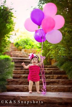 Cailee's 1st Birthday photo session by K Snapshots 2012