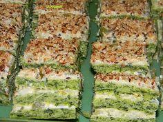 Jojini isprobani recepti: Posna torta od spanaća posna jela, summa summa, posna hrana, side dish, slana jela