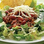 Diabetic friendly taco salad