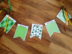 St. Patrick's Day Banner photo prop by Happyzinnia on Etsy, $6.00