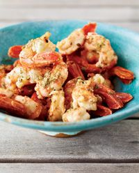 Grilled Shrimp with Oregano and Lemon Recipe