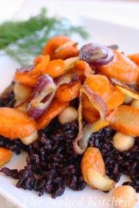 Forbidden Rice Salad   The Naked Kitchen