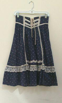 Prairie skirts by Gunne Sax