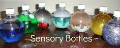 Sensory Bottles Guest Post at Crayon Freckles