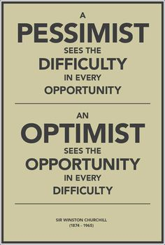 Always remember to stay positive! #quote #Churchill #WinstonChurchill #optomism #positivity #inspiration #ChapmanU
