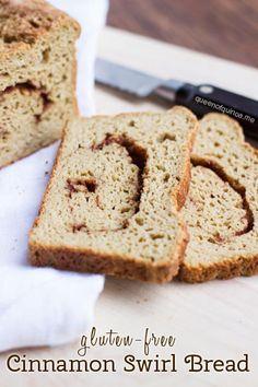 Gluten-Free Cinnamon Swirl Bread | recipes on queenofquinoa.me | #glutenfree