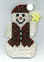magnet pattern, christmas crafts, canvas projects, knitting patterns, plastic canvas patterns