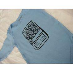 Haha... Nerdy baby shirt @Nick C Larson approved!