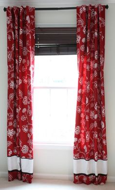 Lined Curtain Tutorial....