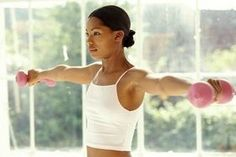 How to get toned arms and lose fat - 5 best exercises. Pinning. . .