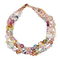 Holly Yashi's jewelry always has wonderful color combinations.