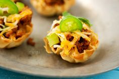 Tex Mex mini bites. Great idea for a super simple and quick appetizer or snack. Great ideas and #recipes!