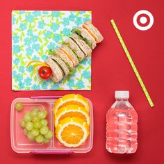 A caterpillar sandwich lunch is as easy as cutting up kids' favorite toppings into small circles.