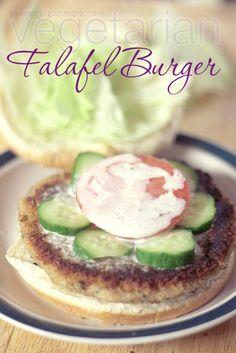 Vegetarian Falafel Burgers!