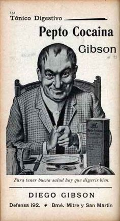 Two levels of creepy...the guy and the cocaine tablets he's advertising. #creepy #vintage #ad