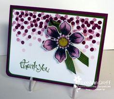 Blendabilities Beautiful bunch card