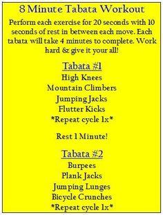 Tabata Interval Workout