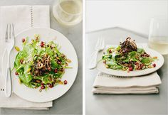 Coconut Quinoa + Spinach Salad