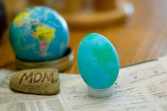 Earth Day Egg Art
