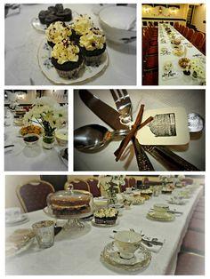 ... tea parties. tea parti, 1920s tea, vintag tea, inspir tea, vintage tea