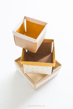 DIY:  berry boxes  #diy