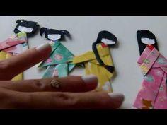 Gueixinha de origami - parte 1 (+lista de reprodução)