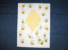 Kids Crafts - Fingerprint Busy Bees - Classic, Camp & Summer Craft Ideas - Kaboose.com