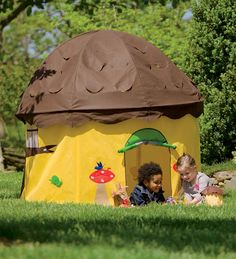 HearthSong #Fungifts #Gifts  Child's Acorn Play Tent with Removable Roof -Fun Gifts via- http://www.AmericasMall.com/hearthsong-gifts