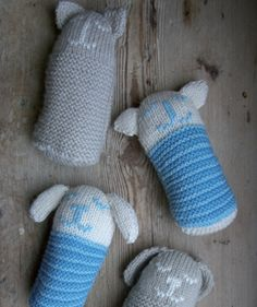 Cat And Dog Toys   Knitting - Free pattern