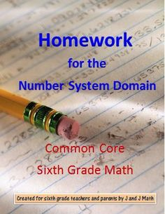 Don't pay $1 - $2 per worksheet---this product links you to hundreds of possible worksheets for every concept in the Number System Domain. The links are not only organized by standards, but by sub-objectives, and the worksheets are free!