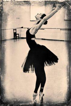 Anastasia Kolegova in rehearsal at Mariinsky Theatre.