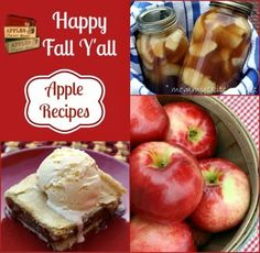 Mommy's Kitchen: Apple Recipe Round Up {Happy Fall Y'all}