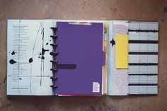 Custom Discbound Cover by Ahhh Design #diyplanner