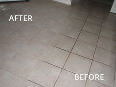 stain solver is the best way to clean grout and tile floors